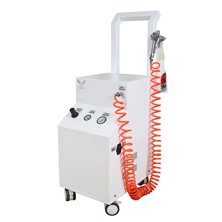 Spray disinfection system