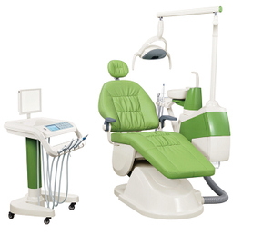 GD-S350C mobile cart dental unit with cast aluminum backrest